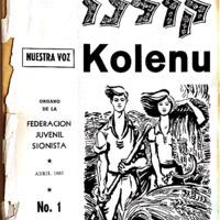 Kolenu, . -- No. 1 --