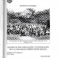 Judíos en Sonora /